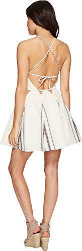 Dolce Vita Women's Blanche Dress Ivory Mint/Black Dress