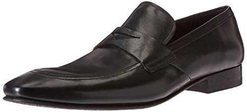Ted Baker Men's Roykso Penny Loafer, Black Leather, 11.5 M US