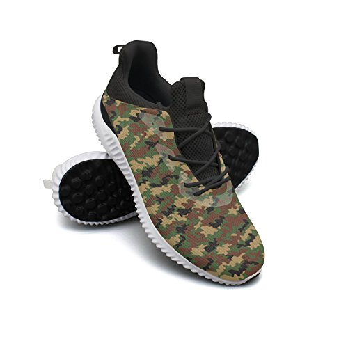 AKDJDS Military Camouflage Pattern Men Shoes Running Shoe Trail Runner