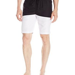 Publish Brand INC. Men's Silas Colorblock Boardshort, Black, 28