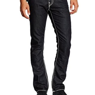 True Religion Men's Ricky Super T Jean, 2S Body Rinse, 34