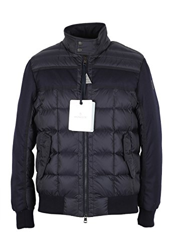 Moncler CL Blue Aramis Quilted Down Jacket Coat Size 1/S/46/36 U.S.