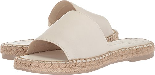 Dolce Vita Women's Bobbi Slide Sandal, Off White Leather, 8.5 M US