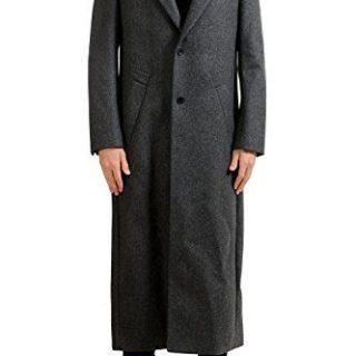 Hugo Boss Mikos FS Men's Wool Gray Long Coat US S IT 48