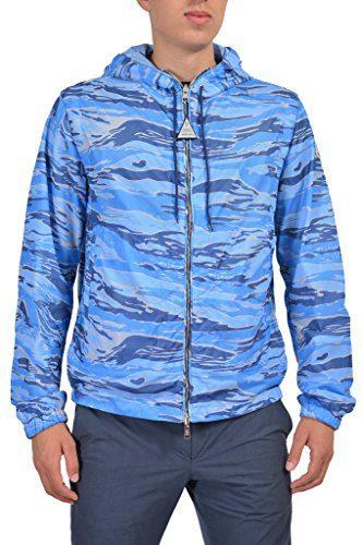 "Moncler ""Gobert"" Men's Multi-Color Hooded Reversible Windbreaker Moncler Sz 3 US L;"