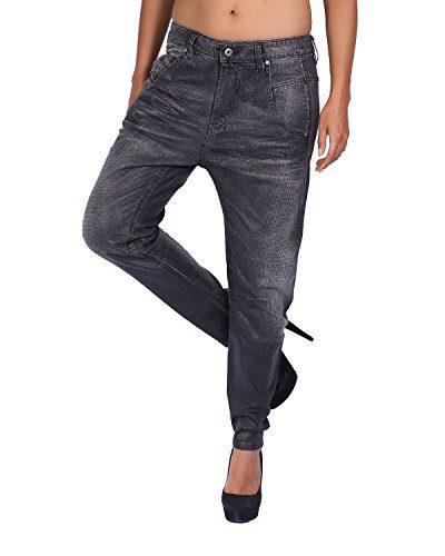 Diesel Women's Jeans FAYZA - Relaxed Boyfriend - Gray, W29/L34