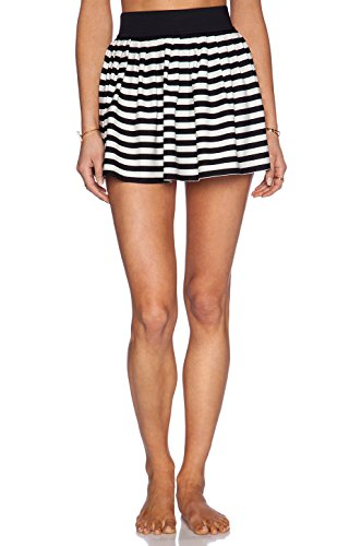 Kate Spade New York Women's Georgica Beach Striped Skirt, Black, Small