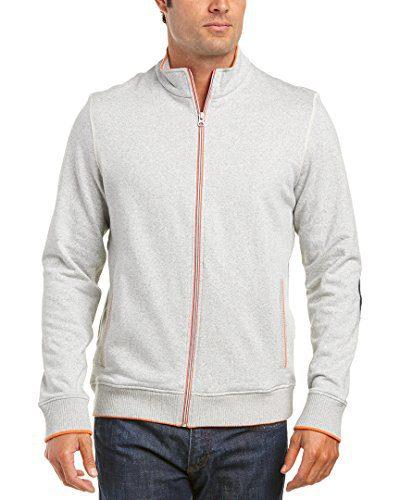 Robert Graham Mens Buzz Classic Fit Sweater, XS, Grey