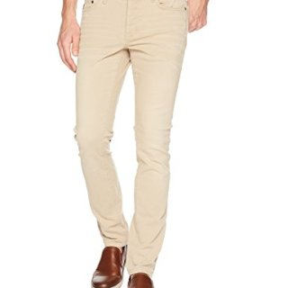 John Varvatos Star USA Men's Wight Fit Jean, Button Fly, Twine, 36