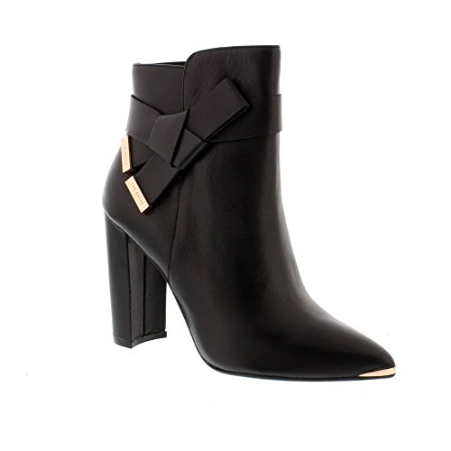 Ted Baker Remadi - Black Leather Womens Boots 8.5 US