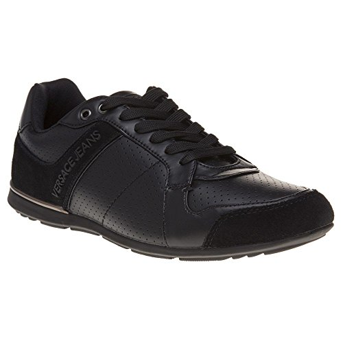 Versace Jeans Tommy Mens Sneakers Black