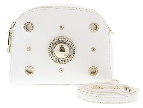 ec9362dc9e41 Versace White Crossbody Bag with adjustable and detachable strap for Womens  · Home   Shop   Women   Accessories   Handbags   Wallets ...