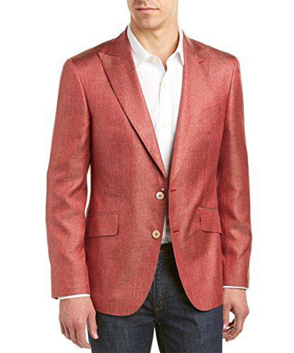 Robert Graham Arlington Silk Jacket Rust 50R