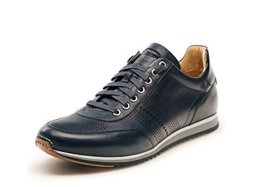 Magnanni Pueblo II Navy Men's Fashion Sneakers Size 10 US