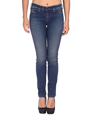Diesel Women's Jeans Doris - Super Slim Skinny - Blue (Navy), W27/L32