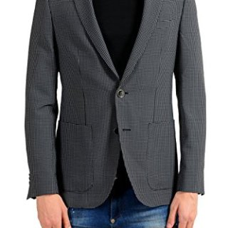 Hugo Boss Harvey Men's Wool Slim Fit Blazer Sport Coat US 38R IT 48R