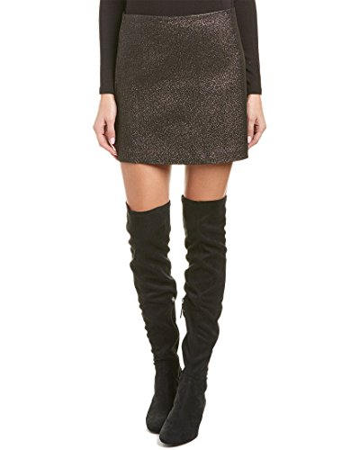 Trina Turk Women's Rico Mini Skirt (Black, 6)