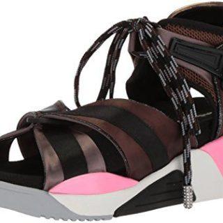 Marc Jacobs Women's Somewhere Sport Sandal, Black/Multi, 38 M EU (8 US)