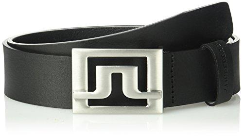 J.lindeberg Men's Slater Pro Leather Belt, black, 105