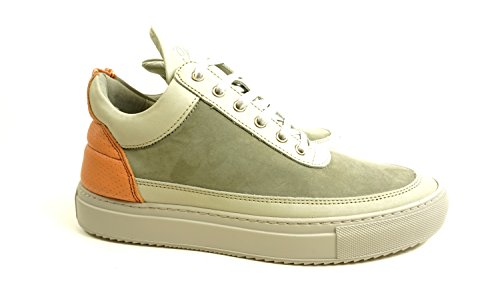 Filling Pieces Men's Low Top Pigeon Grey (SIZE: 42)