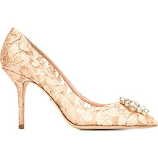 Dolce e Gabbana Women's Beige Viscose Pumps