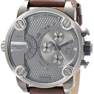 Diesel The Daddies Series Quartz Grey Dial Male Watch