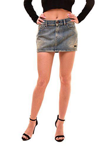 Diesel Women's Authentic Mini De-Kurtis Skirt Blue Size 26