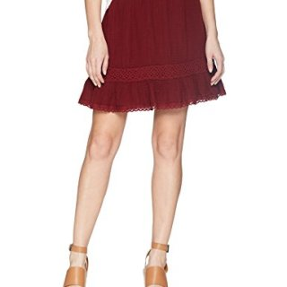 Michael Stars Women's Double Gauze Peasant Skirt, Rialto, S