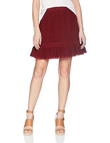Michael Stars Women's Double Gauze Peasant Skirt, Rialto, S