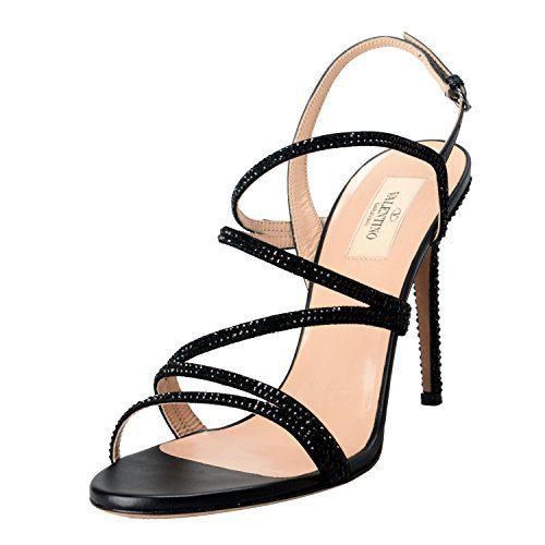 Valentino Garavani Women's High Heel Strappy Shoes US 6.5 IT 37.5;
