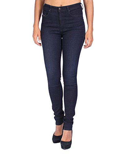 Diesel Women's Jeans Skinzee - Super Slim Skinny - Blue (Navy), W30/L32