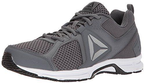 Reebok Men's Runner 2.0 MT Running Shoe, Alloy/Black/ash Grey/White, 12 M US