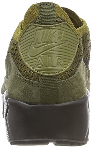 hot sale online ccd25 b6361 Home Shop Men Shoes Fashion Sneakers NIKE Men s Air Max 90 Ultra 2.0  Flyknit Olive (Size  11)