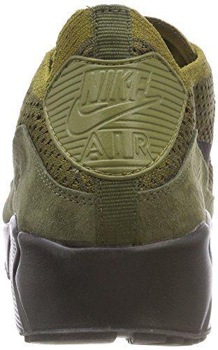 4c86c066de Home Shop Men Shoes Fashion Sneakers NIKE Men's Air Max 90 Ultra 2.0  Flyknit Olive (Size: 11)