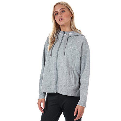 adidas Originals Women's Zip Hoody Medium 12 Grey