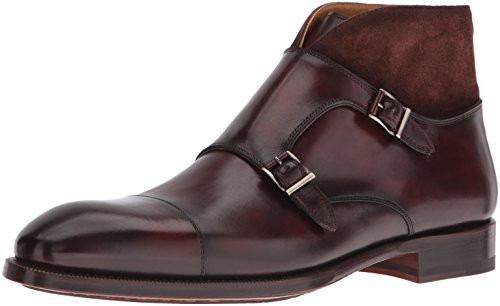 Magnanni Men's Valerio Chukka Boot, Mid Brown, 10.5 M US