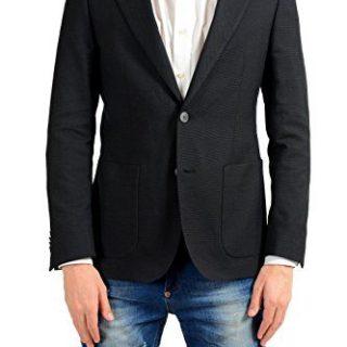 Hugo Boss August Men's Dotted Wool Blazer Sport Coat US 38R IT 48R