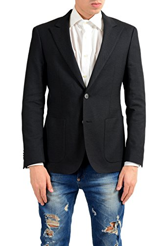 Hugo Boss August Men's Dotted Wool Blazer Sport Coat US 38R IT 48R