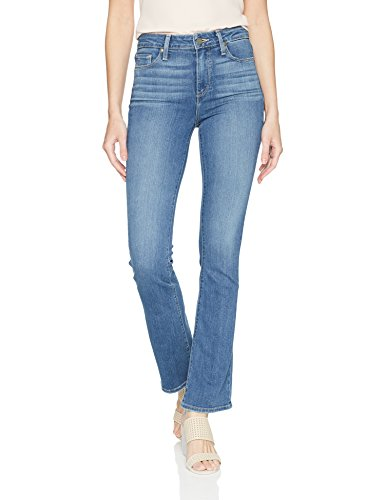 PAIGE Women's Petite Manhattan Bootcut Jean, Henderson, 27