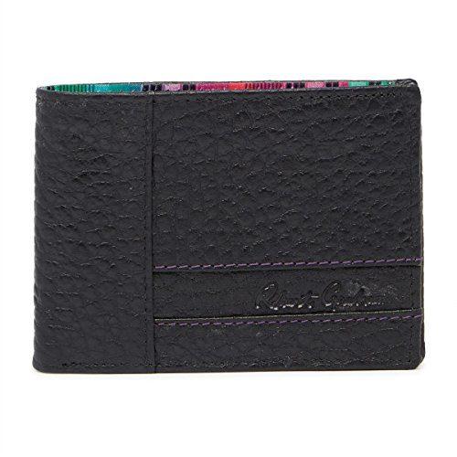 Robert Graham Men's Ferry Leather RFID Bifold Wallet, One Size, Black