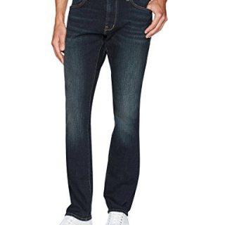 John Varvatos Men's Bowery Fit Jean, Zip Fly Biln, Indigo, 36