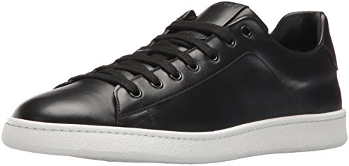 Marc Jacobs Men's Clean Nappa Fashion Sneaker, Black, 41 EU/7 M US