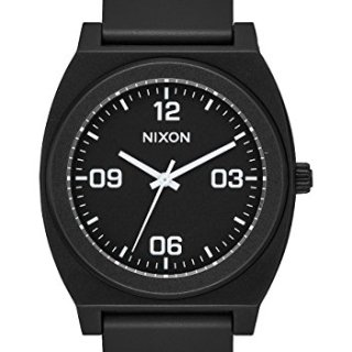 Nixon Time Teller P Corp Men's Watch Black 40mm Stainless Steel