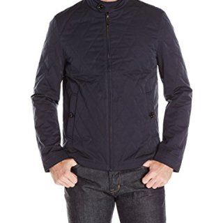 Ted Baker Men's Noah Quilted Jacket, Navy, 7/XXX-Large