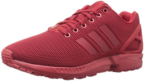 adidas Originals Men's ZX Flux Fashion Sneaker, Power Red/University Red/Cardinal, 13 M US