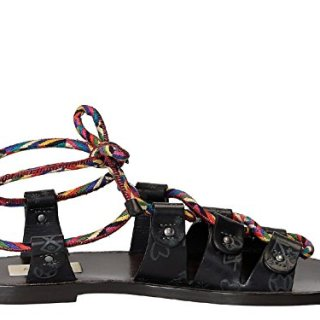 Valentino Garavani Women's Grey Leather Sandals
