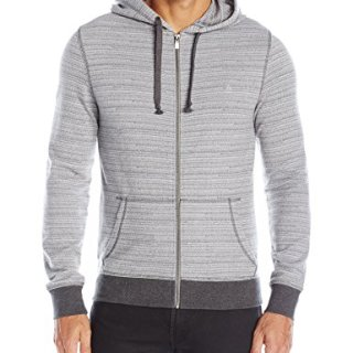 Original Penguin Men's Long Sleeve Space Dye Heavyweight Hoodie, Griffin, XX-Large
