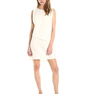 Dolce Vita Women's Layla Linen Dress, White, S