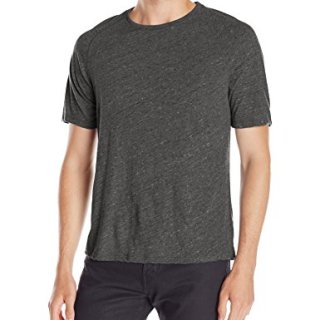 John Varvatos Men's Raglan Crewneck, Kelp, Large