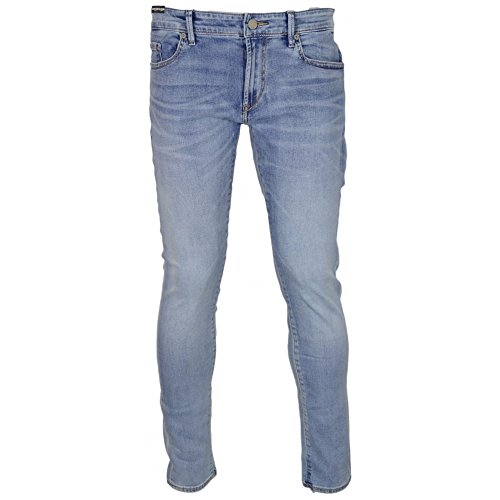 Hugo Boss Orange Burrito Skinny Fit Light Wash Denim Jeans W32 - L30 Light Wash